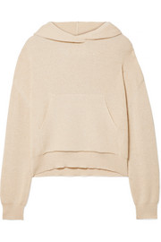 Nanushka Ribbed-knit hooded top