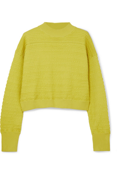 3.1 Phillip Lim Shortened Knitted Sweaters