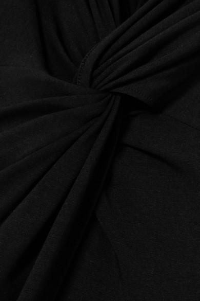 Sid Neigum Maxikleid aus Stretch-Strick mit Twist-Details