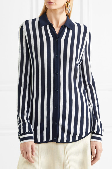Would Gabriela Hearst Carter Shirt In Striped