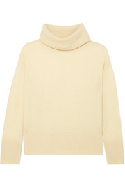 Adam Lippes Brushed-cashmere turtleneck sweater