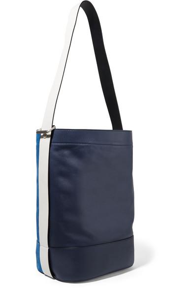 Walker Sling Suede And Leather Bucket Bag - Blue Rag & Bone LDbhDH