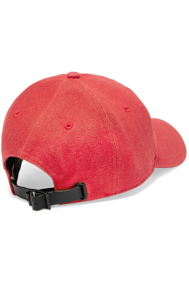Marilyn Leather-trimmed Tweed And Suede Baseball Cap - Red Rag & Bone ifcBk5mH