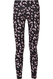+ Emilia Wickstead Liv floral-print stretch leggings