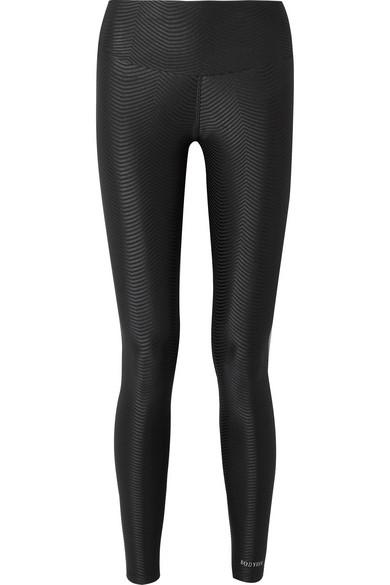 Bodyism - I Am Epic Stretch-jacquard Leggings - Black
