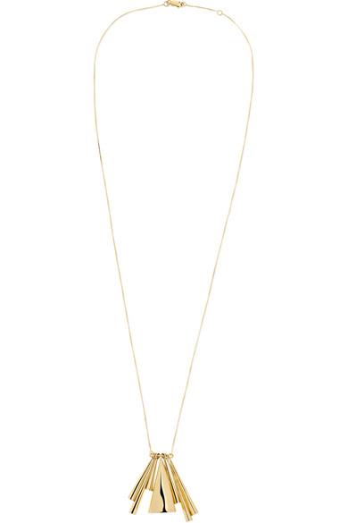 + Narciso Rodriguez 18-karat Gold Necklace - one size Ana Khouri 1TNh2D