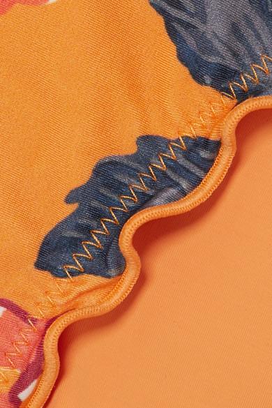 ViX Tulum Bikini-Höschen mit Blumendruck