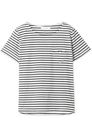 Chinti and Parker Striped organic cotton-jersey T-shirt