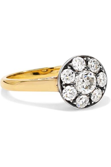 1800s 15-karat Gold, Citrine And Diamond Ring - 6 Fred Leighton