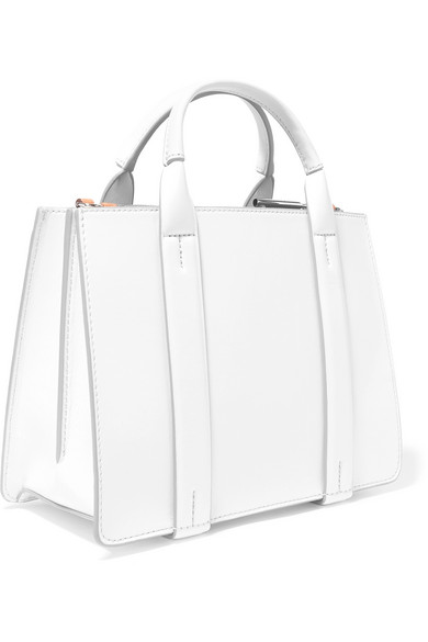 Theory West mini Tote aus Leder Eastbay Spielraum Online-Fälschung BwO8fc