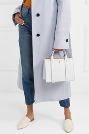Theory West mini leather tote