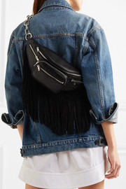 Alexander Wang Attica fringed leather belt bag