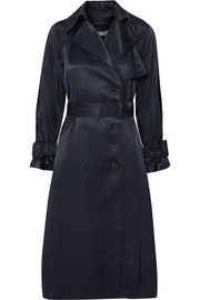 Vince Satin trench coat