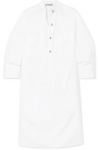 Vince Hemdblusenkleid aus Baumwollpopeline