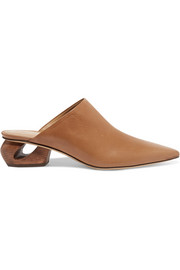 The Row Haya leather mules