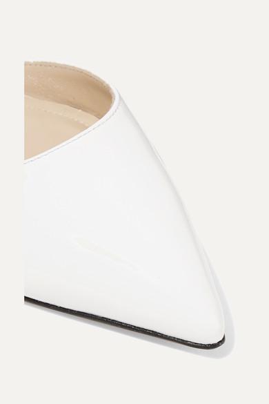 Paul Andrew | Kappe Rhea flache Schuhe mit spitzer Kappe | aus Lackleder 82b617