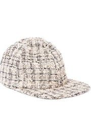Eugenia Kim Darien metallic tweed baseball cap