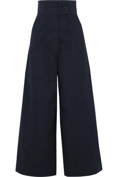 Solace London Hestia Hose mit weitem Bein aus Baumwollpopeline