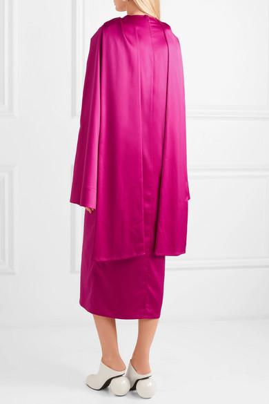 Solace London Aubry Kleid aus Satin