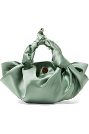 Ascot small satin tote