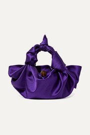 The Row Ascot small satin tote