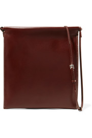 The Row Medicine Pouch large leather shoulder bag