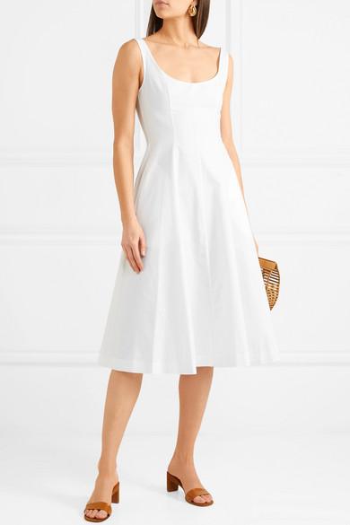 Khaite Cindy Kleid aus Baumwoll-Twill