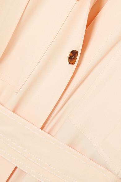Khaite Leilani Hemdblusenkleid aus Crêpe