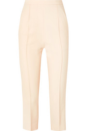 Bridget cropped stretch-twill straight-leg pants