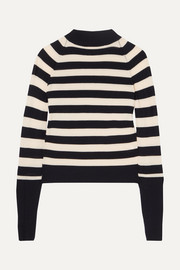 Ursula striped stretch-merino wool sweater