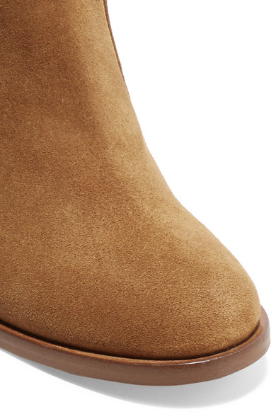 Laurence Dacade Nico Ankle Boots aus Veloursleder
