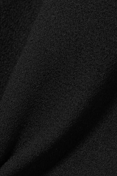 Collection Wolle Stretch Michael Kors Michael Midikleid aus Cr锚pe Kors aus twtPvqW4T