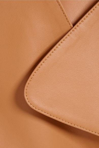 Rabatt 100% Garantiert 2018 Günstiger Preis Michael Kors Collection Trenchcoat aus Leder mit Gürtel Steckdose Zuverlässig Billige Amazon yzrWCCv
