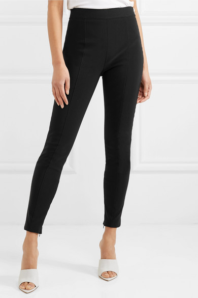 Alexander Wang Leggings aus Stretch-Crêpe