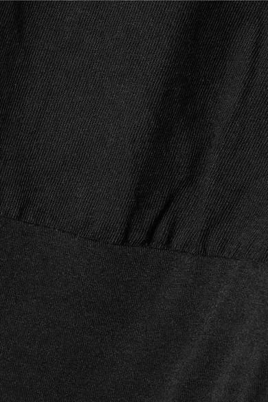 T by Alexander Wang Body aus Baumwoll-Jersey mit Stretch-Anteil