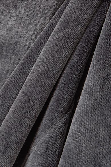 T by Alexander Wang Jogginghose aus Velours aus einer Baumwollmischung