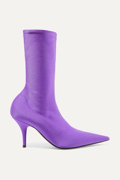 46b17b1b74f6 Balenciaga. Knife spandex sock boots