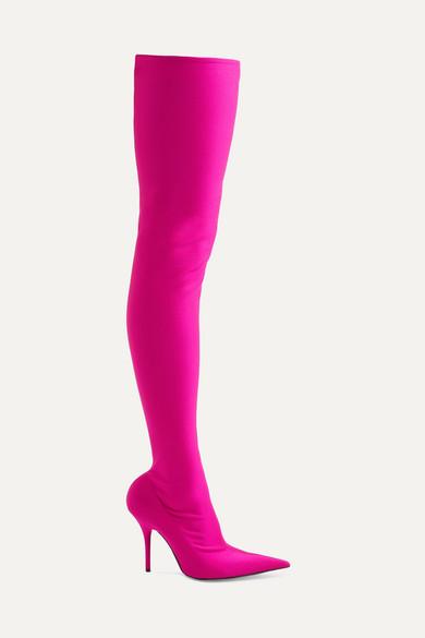 55494246f Balenciaga | Knife spandex thigh boots | NET-A-PORTER.COM