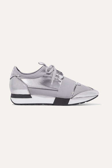 c9536cd03ff7 Balenciaga. Race Runner metallic leather