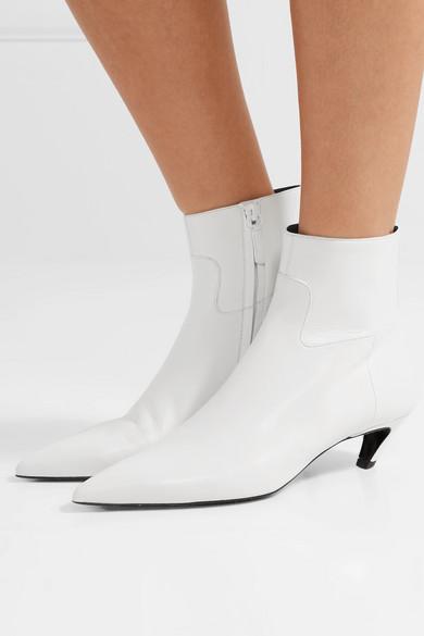 Bestseller Zum Verkauf Steckdose Mit Paypal Um Balenciaga Ankle Boots aus Leder Freies Verschiffen Outlet-Store 2018 Unisex Auslass Extrem MWDdZhXmuL
