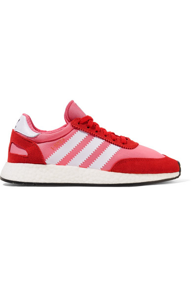Adidas Originals Iniki Vintage Runner Sneakers, Pink/orange