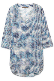 Corales printed voile tunic