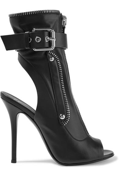 Giuseppe Zanotti | Leder Kendra Ankle Boots aus Leder | mit Schnalle 8c837c