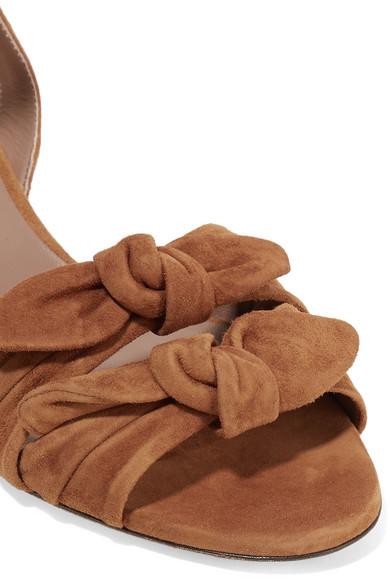 Tabitha Simmons Eloy Sandalen aus Veloursleder mit Schleifen