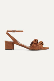 Eloy bow-embellished suede sandals