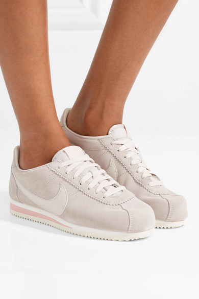 brand new b06c4 fd6c6 Classic Cortez suede and leather sneakers