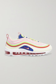 Nike Air Max 97 SE leather and mesh sneakers