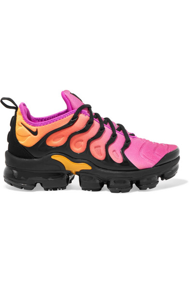 37221858f5 Nike | Air VaporMax Plus faux suede-trimmed neoprene and rubber ...