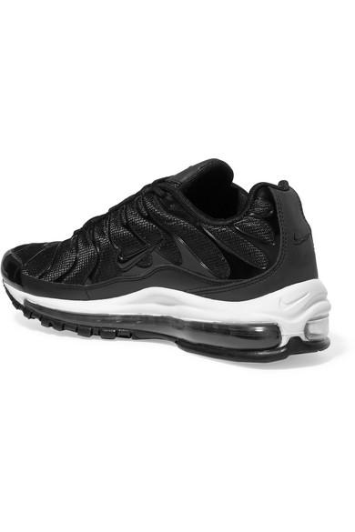 Nike Air Max 97 Plus Sneakers aus Nubuklederimitat, Gummi und Mesh