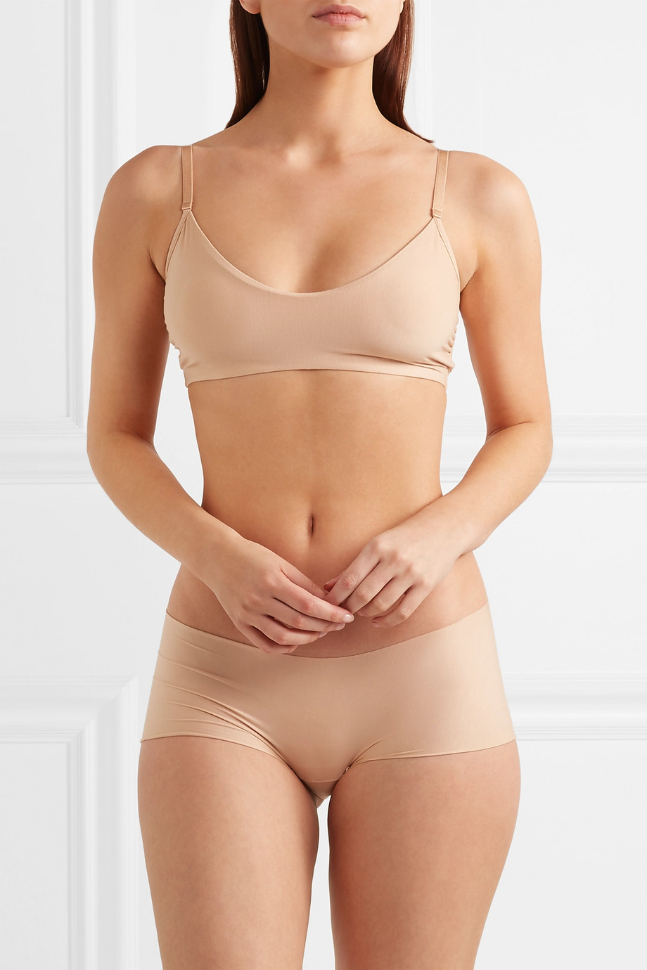 Commando Butter stretch-jersey soft-cup bra
